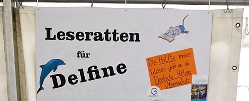 Aktion Bücherflohmarkt für den Meeresschutz von Marie K.