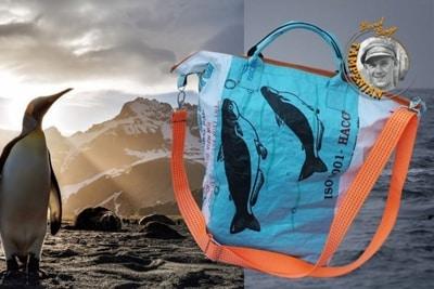 Nolinearts spendet 10 % vom Verkaufspreis dieser Tampenjan Tasche.