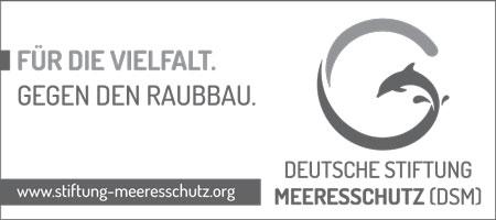 Füllanzeige Deutsche Stiftung Meeresschutz Motiv 'Delfin 1' A5 quer.