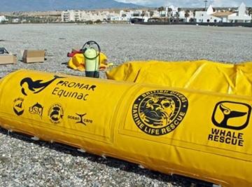 Spanien: Strandungs-Rettungsfloß