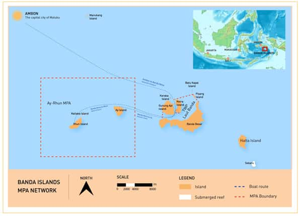 Banda Islands Marine Protected Area Network.