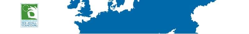 Banner der Europäischen Woche der Abfallvermeidung.
