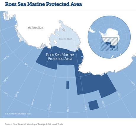 Ross Sea Marine Protected Area.