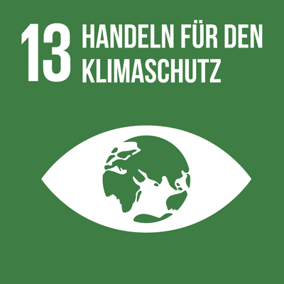 UN-Nachhaltigkeitsziel 13 Handeln für den Klimaschutz.