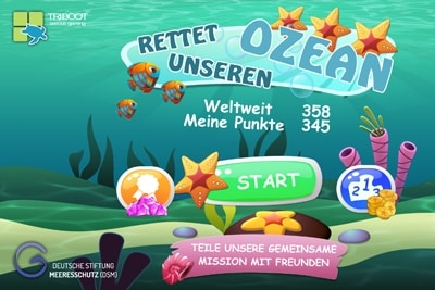 App Rettet unseren Ozean.