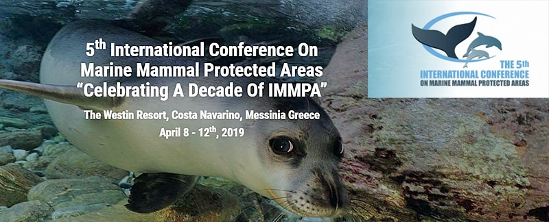 Invitation 5. int Conference on Marine Mammal Protected Areas.