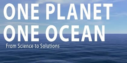 One Planet – One Ocean.