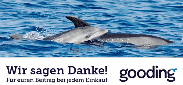 Jetzt kostenfrei den Meeresschutz unterstützen mit einem online Einkauf über gooding.de