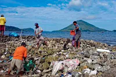 Indonesien: Ocean CleanUps