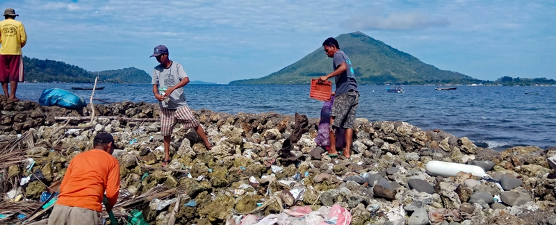 Im Einsatz gegen Müll im Meer