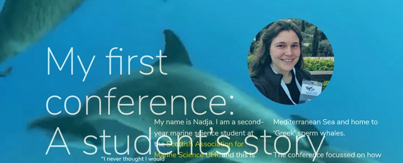 My first conference: A student's story - Artikel im Ocean Explorer Magazine.