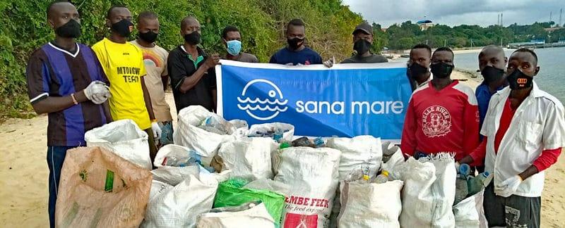 sana mare social cleanup, Kenia.