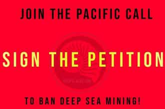Drawing the Pacific Blue Line against Deep Sea Mining