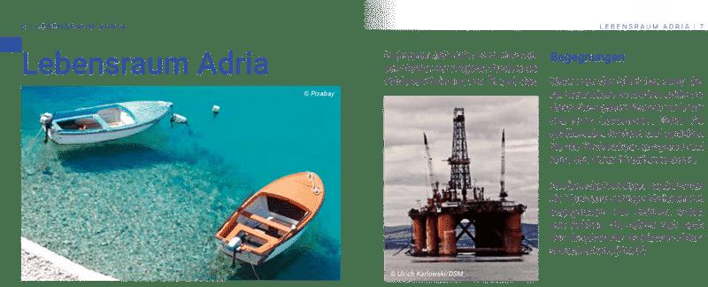 Seiten 6-7, Broschüre Bedrohte Artenvielfalt in der Adria.