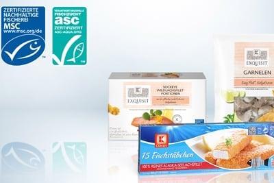 MSC und ASC zertifizierter Fisch bei Kaufland.