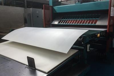 Herstellung der Hohlkammerstegplatten