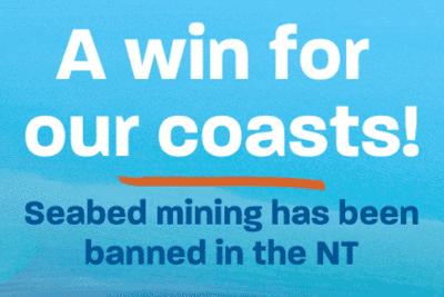 Northern Territory verbietet Tiefseebergbau.