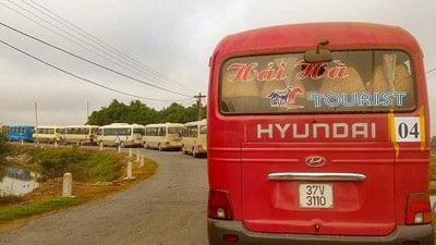 Busse zur Einreichung der Sammelklage zum Gericht nach Ky Anh, ha Tinh.