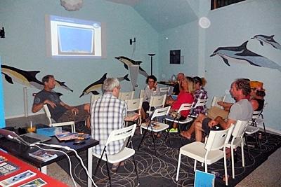 Im Oktober 2017 fand ein weiteres Treffen mit allen Whalewatching-Anbietern vor Ort statt.