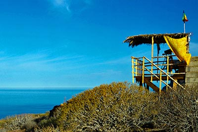 Permanente Station zur landgestützten Beobachtung von Delfinen und Walen auf La Gomera.